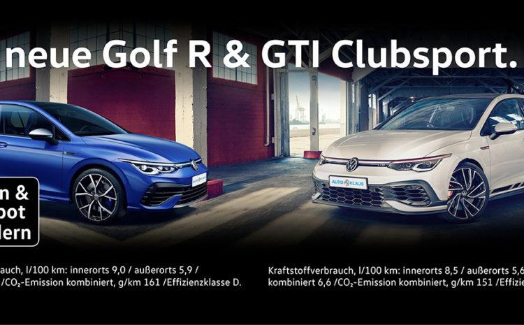 Golf R & GTI Clubsport