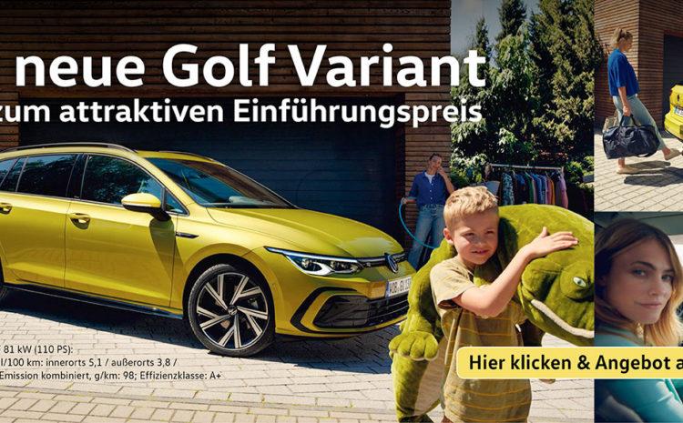Der neue Golf Variant